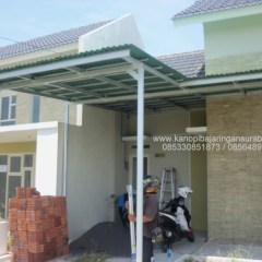 Kanopi Baja Ringan Untuk Rumah Minimalis Jual Canopy Canopi Murah Single