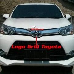 Logo Grand New Avanza All Kijang Innova 2016 Jual Emblem Lambang Grill Toyota Depan