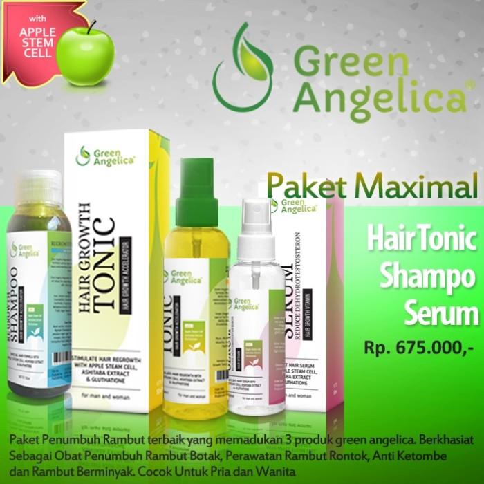 Obat Penumbuh Rambut Green Angelica Anti Kebotakan