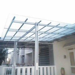 Contoh Rangka Atap Baja Ringan Minimalis Jual Amp Canopy Elegan