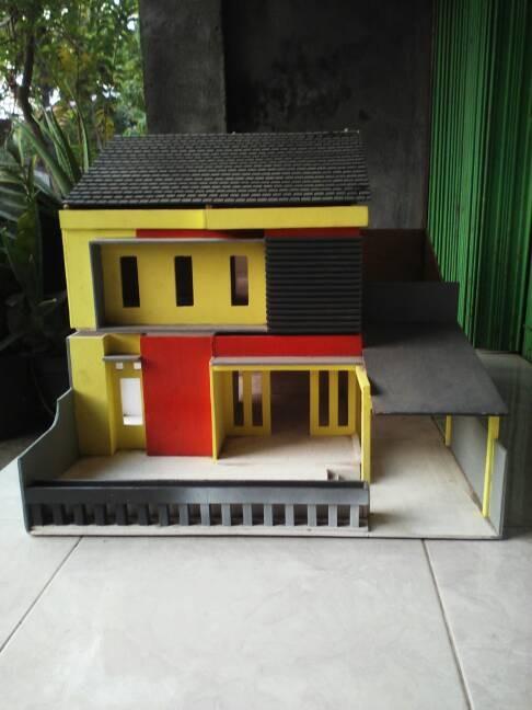 Miniatur Dari Triplek : miniatur, triplek, Miniatur, Rumah, Triplek, Model, Minimalis