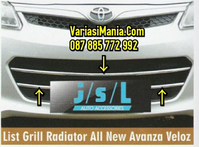 list grill grand new avanza veloz toyota yaris trd supercharger kit jual all crome variasimania tokopedia