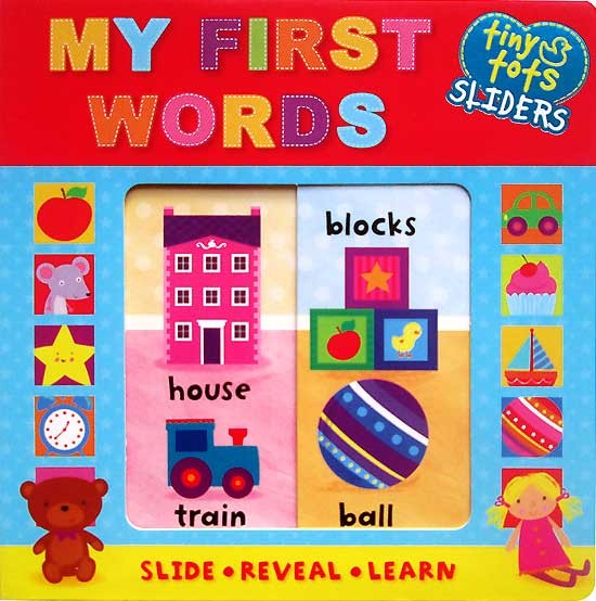 Jual My First Words Tiny Tots Sliders Board Book Slide Reveal Learn Tt Jakarta Utara Smartkidz Indo Tokopedia