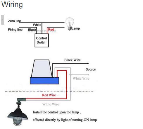 Jual Sensor Photocell Photoswitch untuk Lampu Jalan AC DC