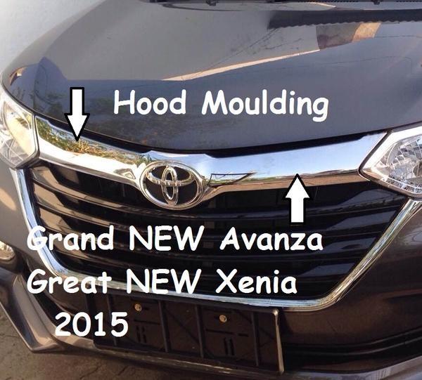grand new avanza limited spesifikasi head unit veloz jual hood moulding list kap mesin depan