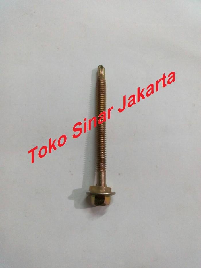 alat baut roofing jual atap self drilling screw 6 5 cm