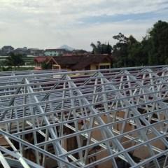 Kontraktor Baja Ringan Jakarta Jual Jasa Pemasangan Atap Canopy