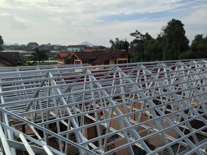 harga ongkos pasang atap baja ringan jual jasa pemasangan kontraktor spandek