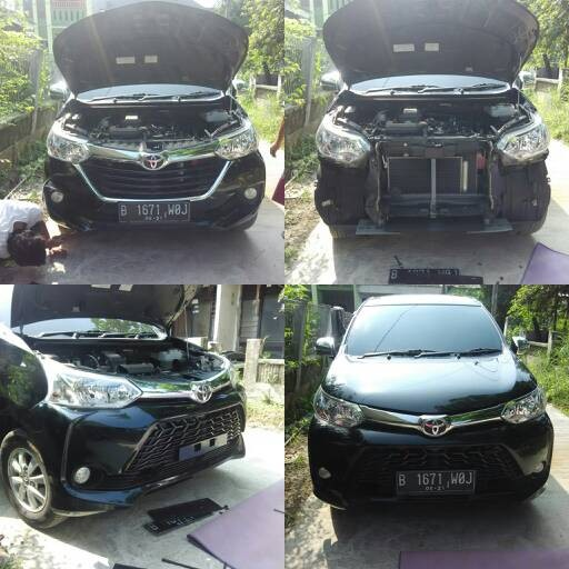 bemper grand new veloz the all camry commercial jual upgrade wirautomo otoparts 2 tokopedia