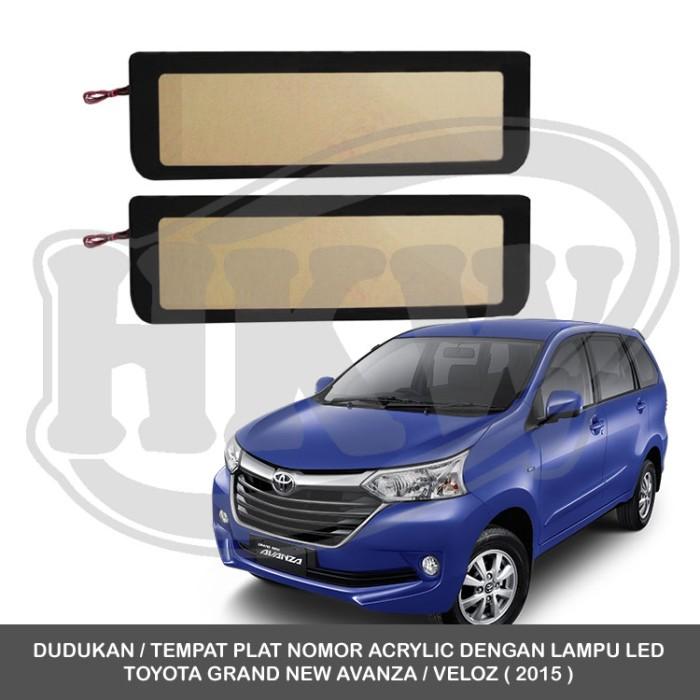 pilihan warna grand new avanza 2015 jual velg all yaris trd tempat plat nomor mobil acrylic lampu toyota veloz