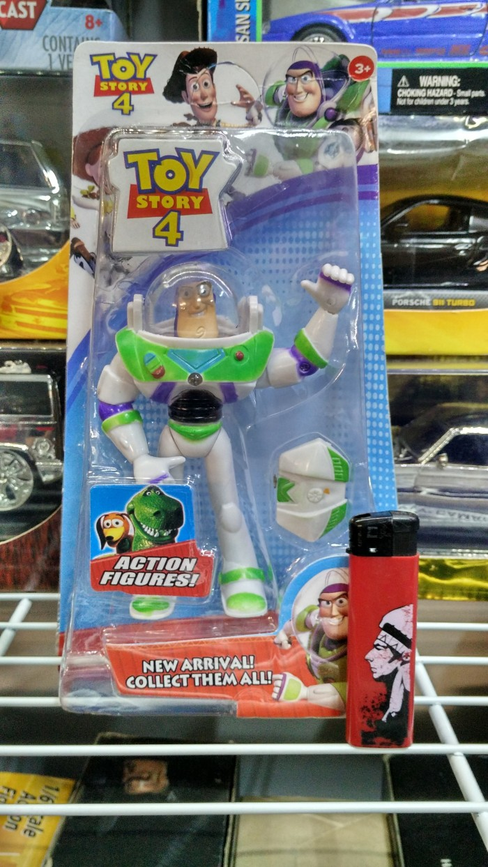 medium resolution of mainan action figure toy story woody buzz box