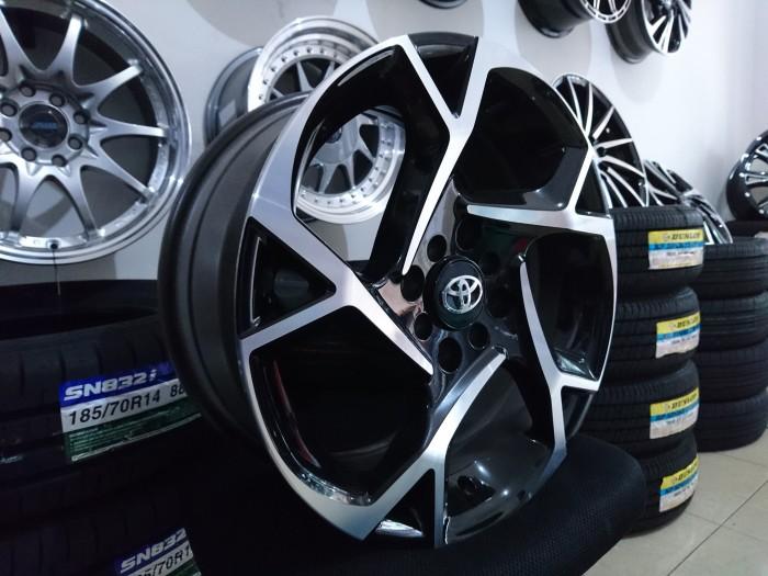 jual velg grand new veloz avanza g 1.3 putih mobil toyota 2017 ring 16 sinar