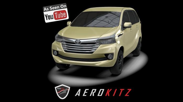 aksesoris grand new avanza all alphard 2018 redesign jual aerokitz toyota vintage style front