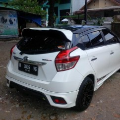 Toyota Yaris Trd Spoiler Head Unit Grand New Veloz 1.5 Jual Belakang Plastik All Baru Akseso