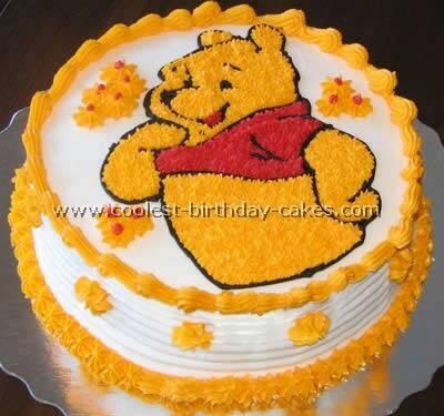 Jual Bday Cake Winnie The Pooh Kota Bandung Cakecity Tokopedia