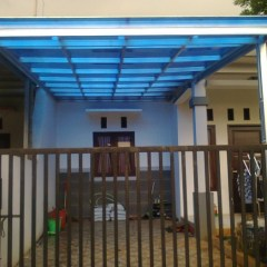 Kanopi Baja Ringan Untuk Dapur Jual Bogor Depok Jakarta Pemasangan 175 000