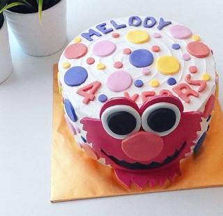 Jual Elmo Cake Kota Depok Sweettooth Corner Tokopedia