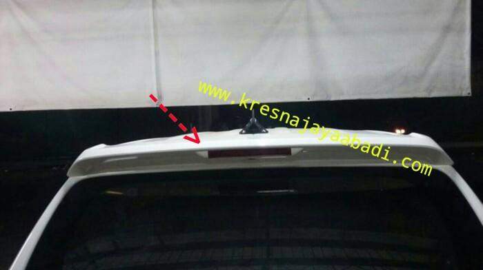 jual spoiler grand new avanza all agya trd 2017 veloz kresna car