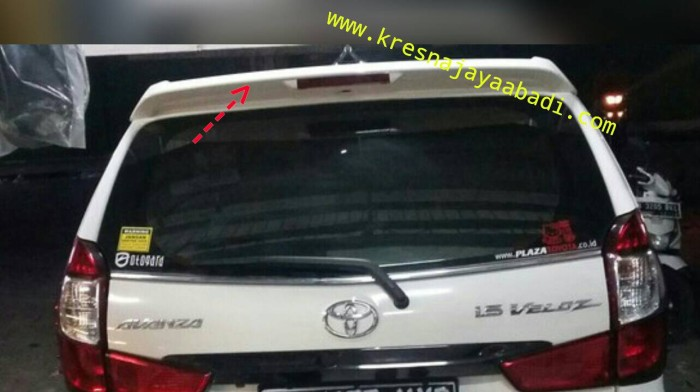 spoiler grand new avanza all camry vs accord jual veloz kresna car