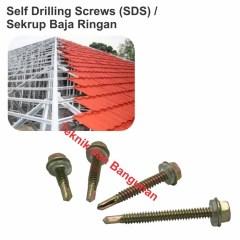 Pemasangan Sekrup Baja Ringan Jual Sds 4 9mm X 20mm 3 1box 500pcs