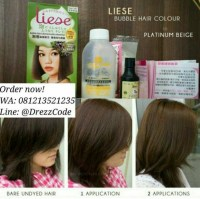 Jual Liese Prettia Bubble Hair Color - Platinum Beige ...
