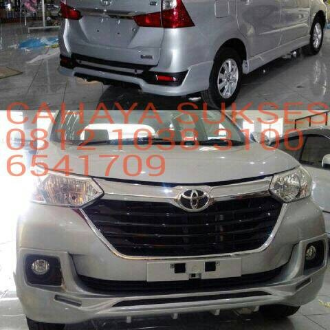 grand all new avanza 2016 toyota camry 2019 jual body kit bodykit plastik