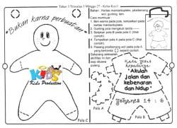 Jual Buku Kurikulum Sekolah Minggu Tahun 3 Triwulan 3 Jakarta