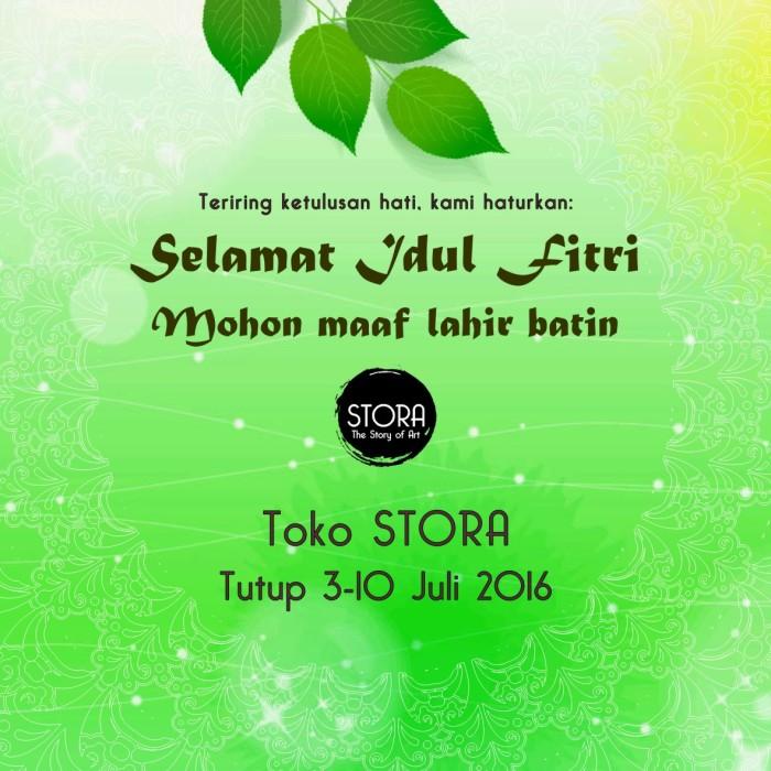 Jual Ucapan Selamat Idul Fitri Kab Bandung Stora Art