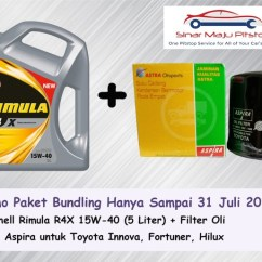 Oli All New Kijang Innova Grand Avanza Dark Brown Mica Jual Paket Bundling Shell Rimula R4x Filter Fortuner Diesel