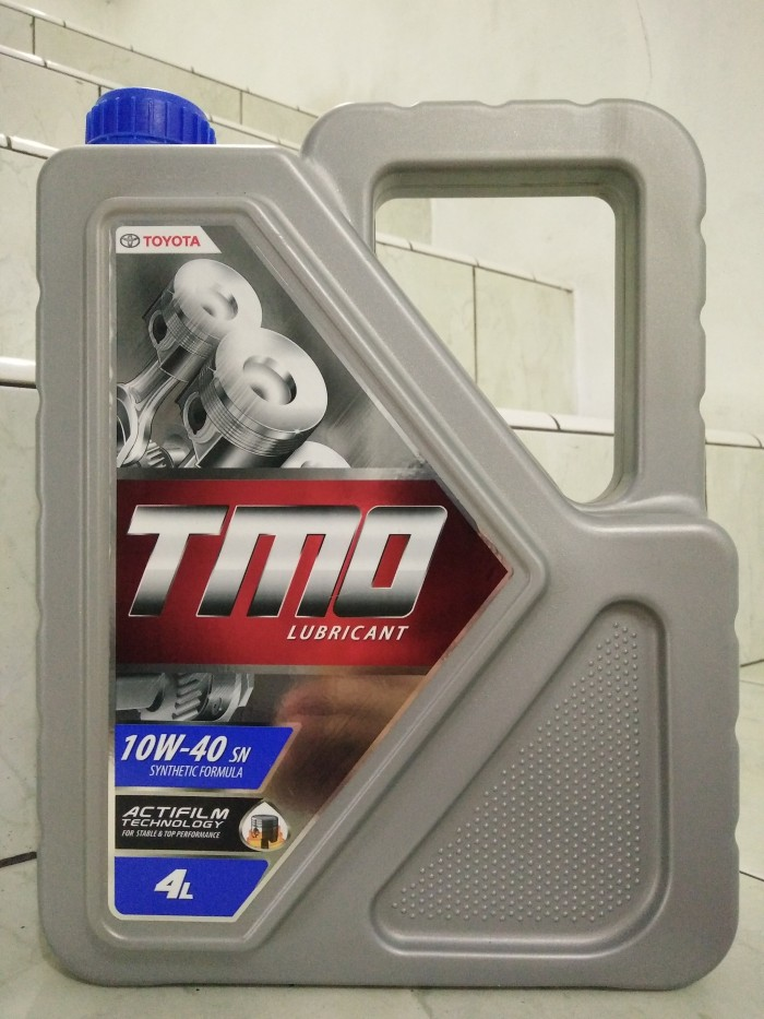 oli grand new avanza berapa liter toyota yaris vitz trd turbo step 2 jual tmo lubricant sae 10w 40 api sn synthetic 4 galon