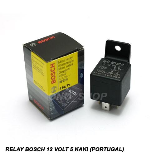 Relay 12 Volt 5 Kaki