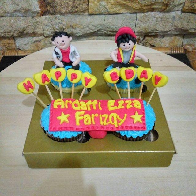 Jual Cupcakes Tema Boboiboy Bday Cake Kue Ultah Anak Kota