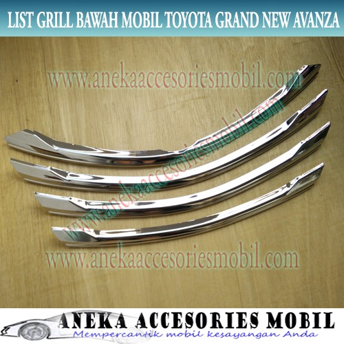 grand new avanza limited review veloz 2017 jual list grill grille toyota sopi niaga