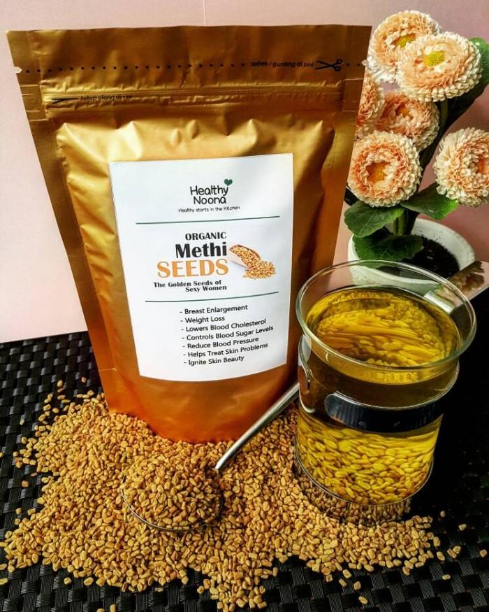 Methi Seeds Pembesar Payudara Pelangsing Alami