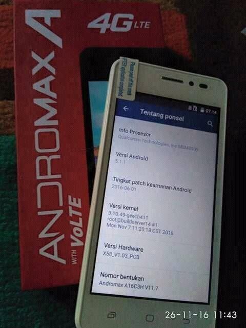 Flash Andromax A X58 : flash, andromax, Smartfren, Andromax, Medan, Taufik, Cekedot, Tokopedia
