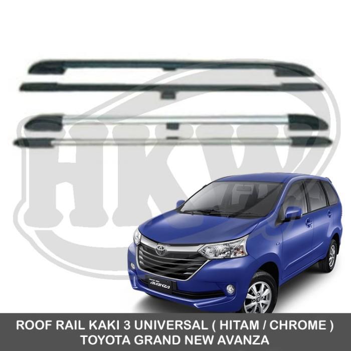 roof rail grand new avanza toyota yaris trd sportivo 2017 jual kaki 3 universal hkw