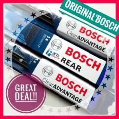 Ukuran Wiper Grand New Avanza Interior G 2018 Jual Paket Bosch Ca 21 14 H352