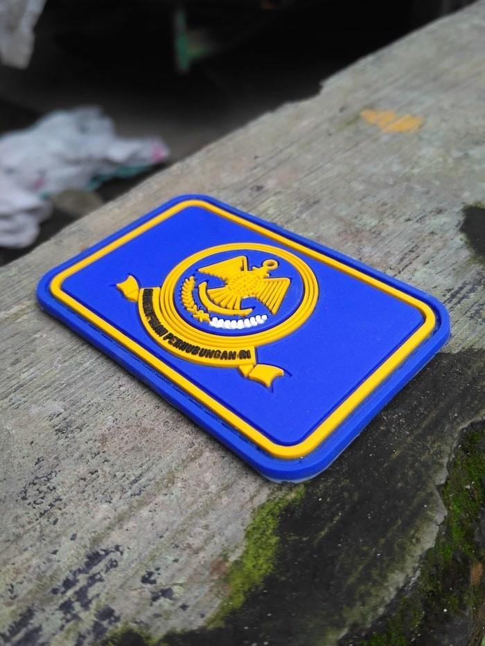 Kementerian Perhubungan Logo : kementerian, perhubungan, Patch, Rubber, Perekat, Karet, Kementerian, Perhubungan, Medan, Kaporlap, Tokopedia