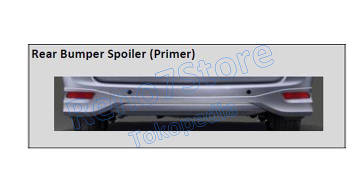 grand new avanza limited terbaru 2018 jual rear bumper spoiler original