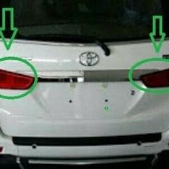 Lampu Belakang Grand New Avanza Interior Toyota Veloz Jual Reflektor Xenia Rh Lh Original