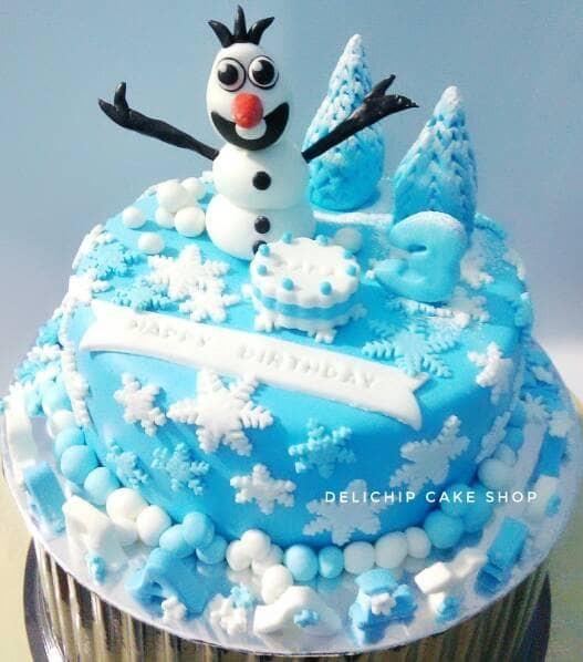 Jual Kue Ulang Tahun Frozen Elsa Birthday Cake Kab Bandung Barat