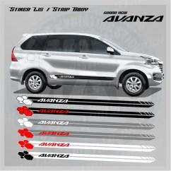 Cutting Sticker Grand New Avanza Interior Agya Trd 2018 Jual Stiker Strip Lis Simple Mac