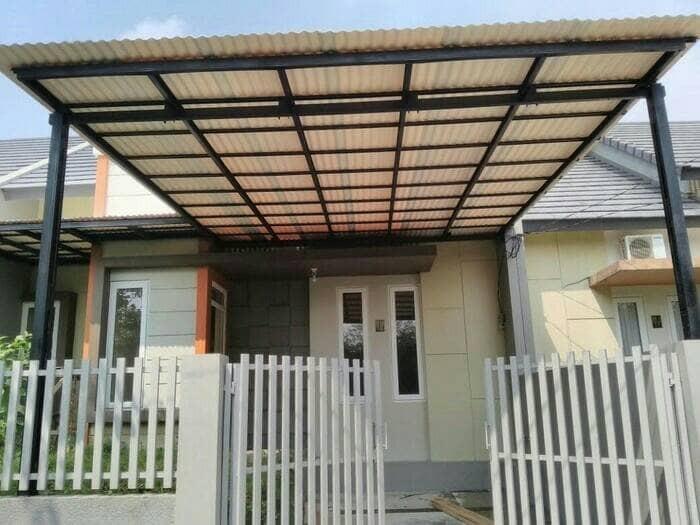 canopy baja ringan di jakarta jual promo kanopi genteng alderon barat wa