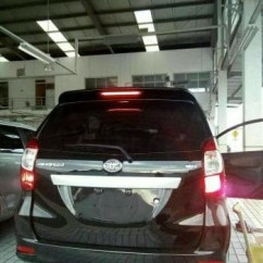 Jual Spoiler Grand New Avanza All Vellfire 2017 Original Toyota Mobil Great