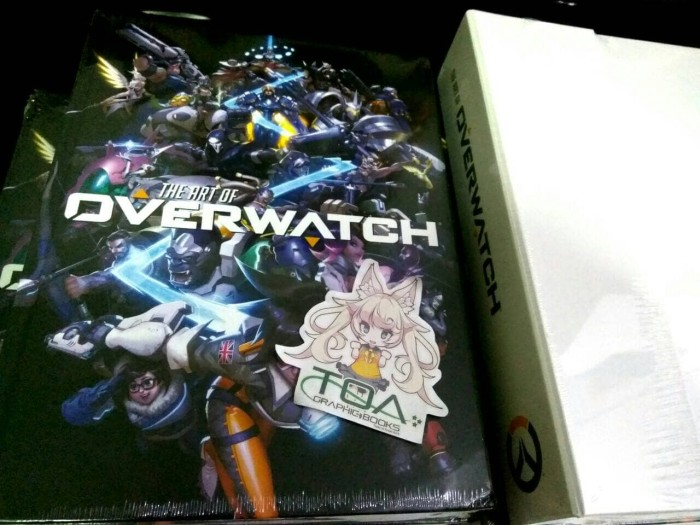 jual overwatch artbook limited