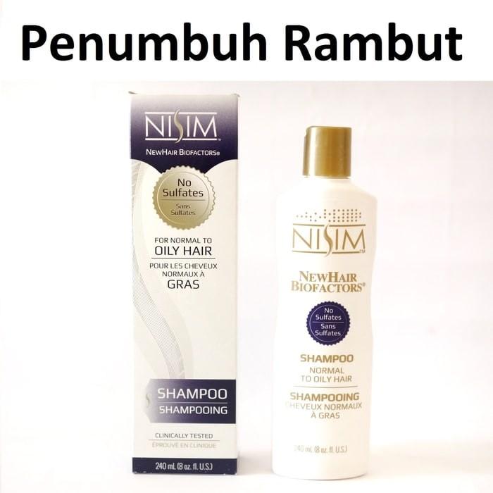 Shampoo Nisim Biofactors Normal Minyak Penumbuh Rambut