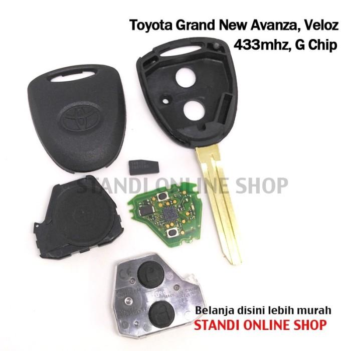 remote grand new avanza spesifikasi toyota 2018 jual kunci chip transponder pcb mobil