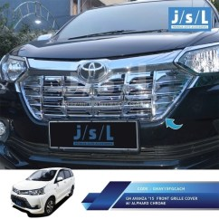 Cover Grill Grand New Avanza Tipe All Kijang Innova Jual Gril Grille Great Xenia Model Aplhard