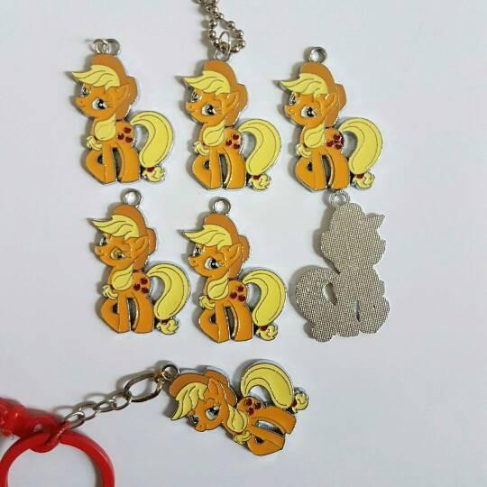 Jual Applejack My Little Pony Metal Gantungan Kunci Kota Bekasi Juangstore99 Tokopedia