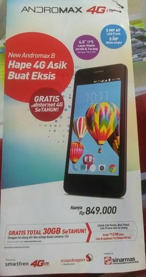 Flash Andromax B : flash, andromax, Smartfen, Andromax, [1/8], Gratis, Internet, Setahun, Bogor, Cellular, Tokopedia